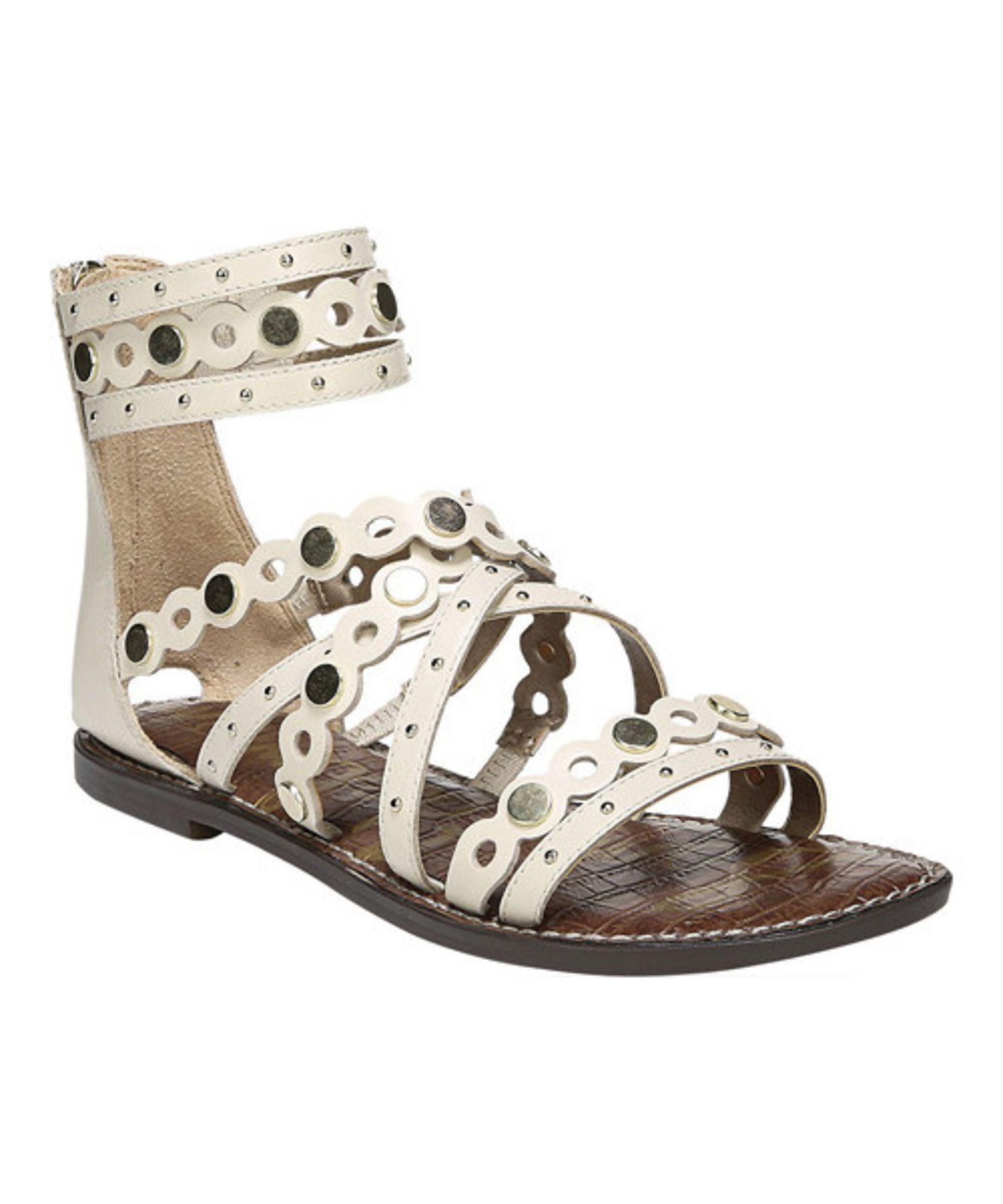 SAM EDELMAN   Sam Edelman Women's Geren Ankle Cuff Gladiator Sandal #Shoes  #Sandals #