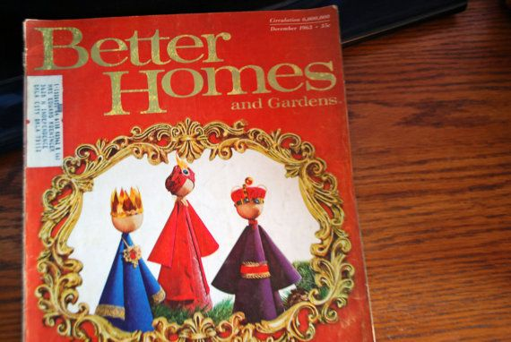 Better Homes and Gardens December 1963 by TheVintageBookman
