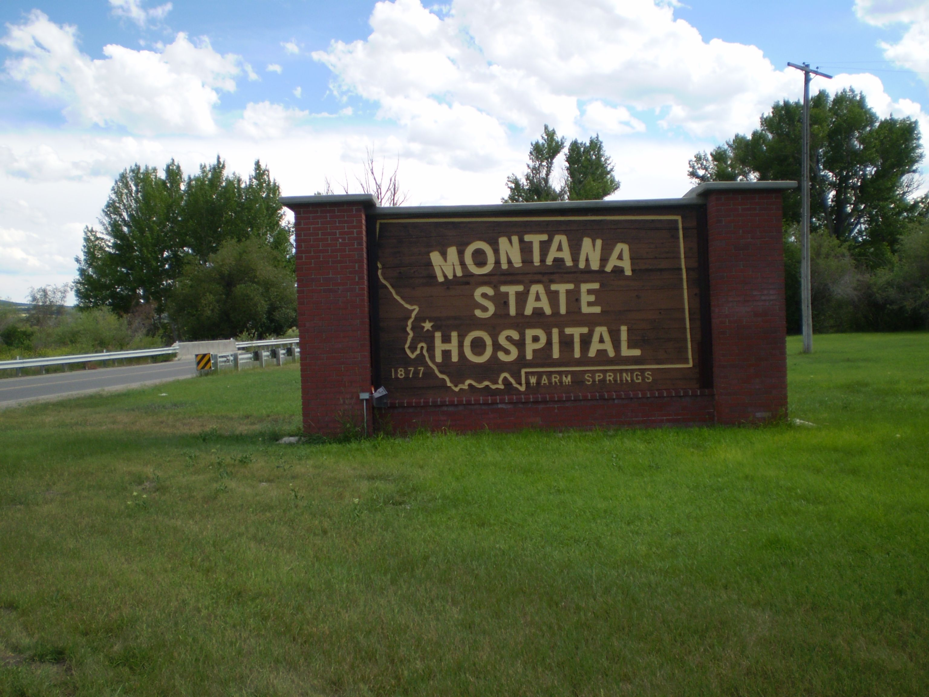 Montanta State Hospital Warm Springs Deer Lodge Montana