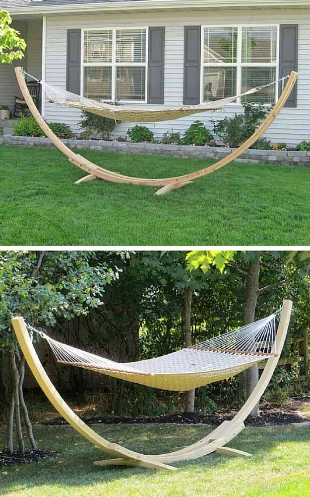 Diy Hammock Stands Diy Projects Craft Ideas How To S For Home Decor With Videos Diy Hammock Hammock Stand Diy Hammock Stand