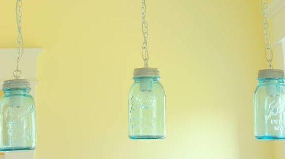 cottage mason jar chandelier. DIY Vintage Canning Mason Jar Pendant Lights Cottage Chandelier