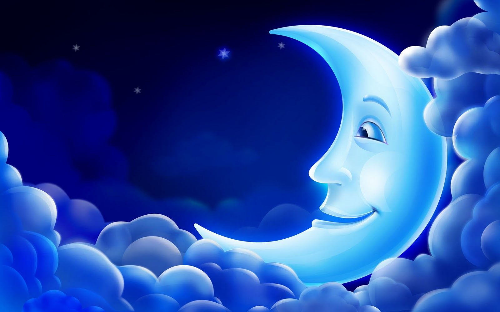 Blue Moon 3d Animation Wallpaper Free Animated Wallpaper 3d Animation Wallpaper Star Wallpaper