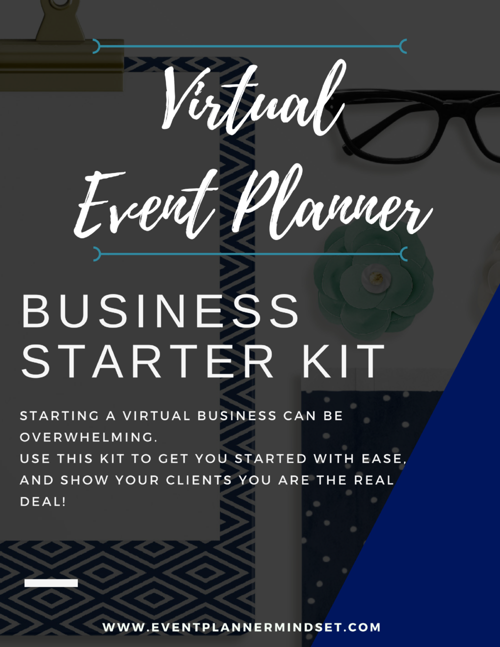 get a virtual event planner business kit and start booking clients