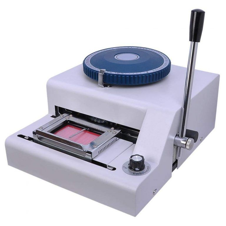 Best Stamping Machine In 2021 Review And Buying Guide Embossing Machine Plastic Card Pvc