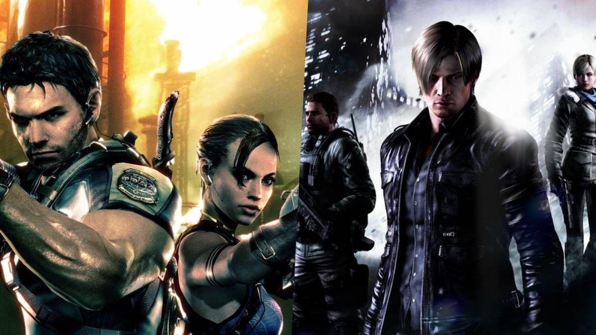 Digital Foundry Resident Evil 5 6 Demo Comparisons