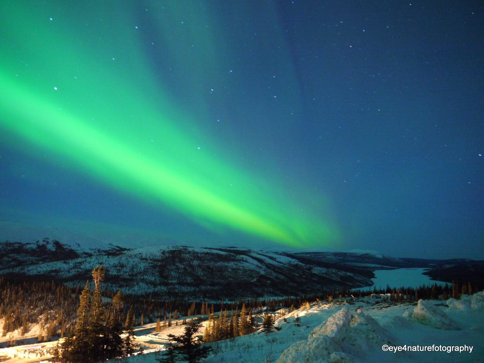 Northern Lights Aurora Borealis- Foto by Matt Kawei