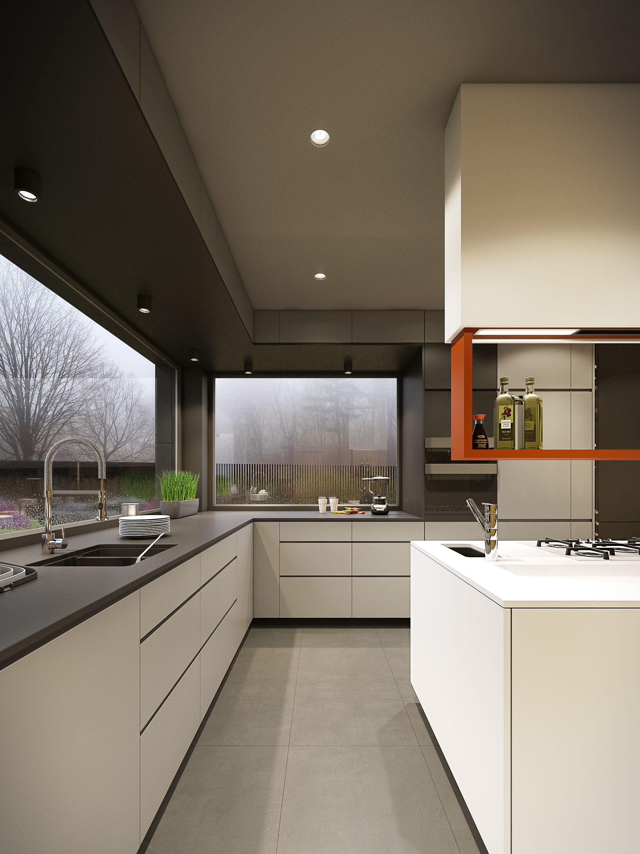 Projekt Wnetrza Domu Na Slasku Haus Kuchen Kuchendesign Innenarchitektur Kuche