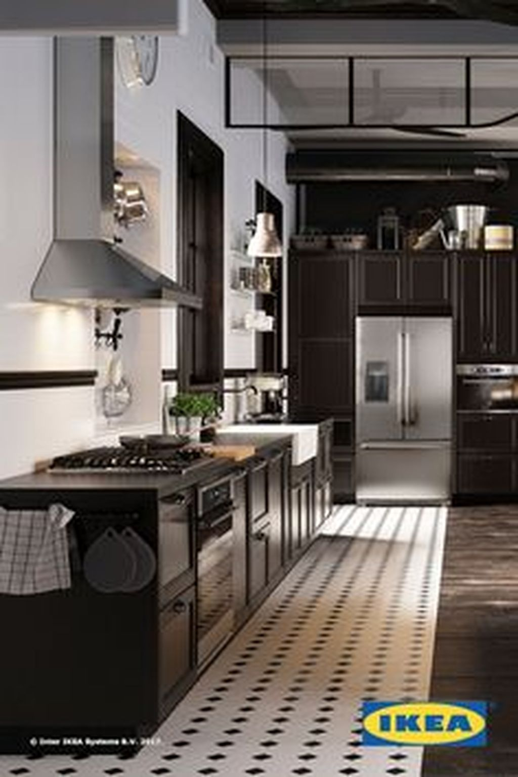 cool 50 modern christmas kitchen decorating ideas more at https50homedesigncom2017121950 modern christmas kitchen decorating ideas - Pinterest Christmas Kitchen Decorating Ideas