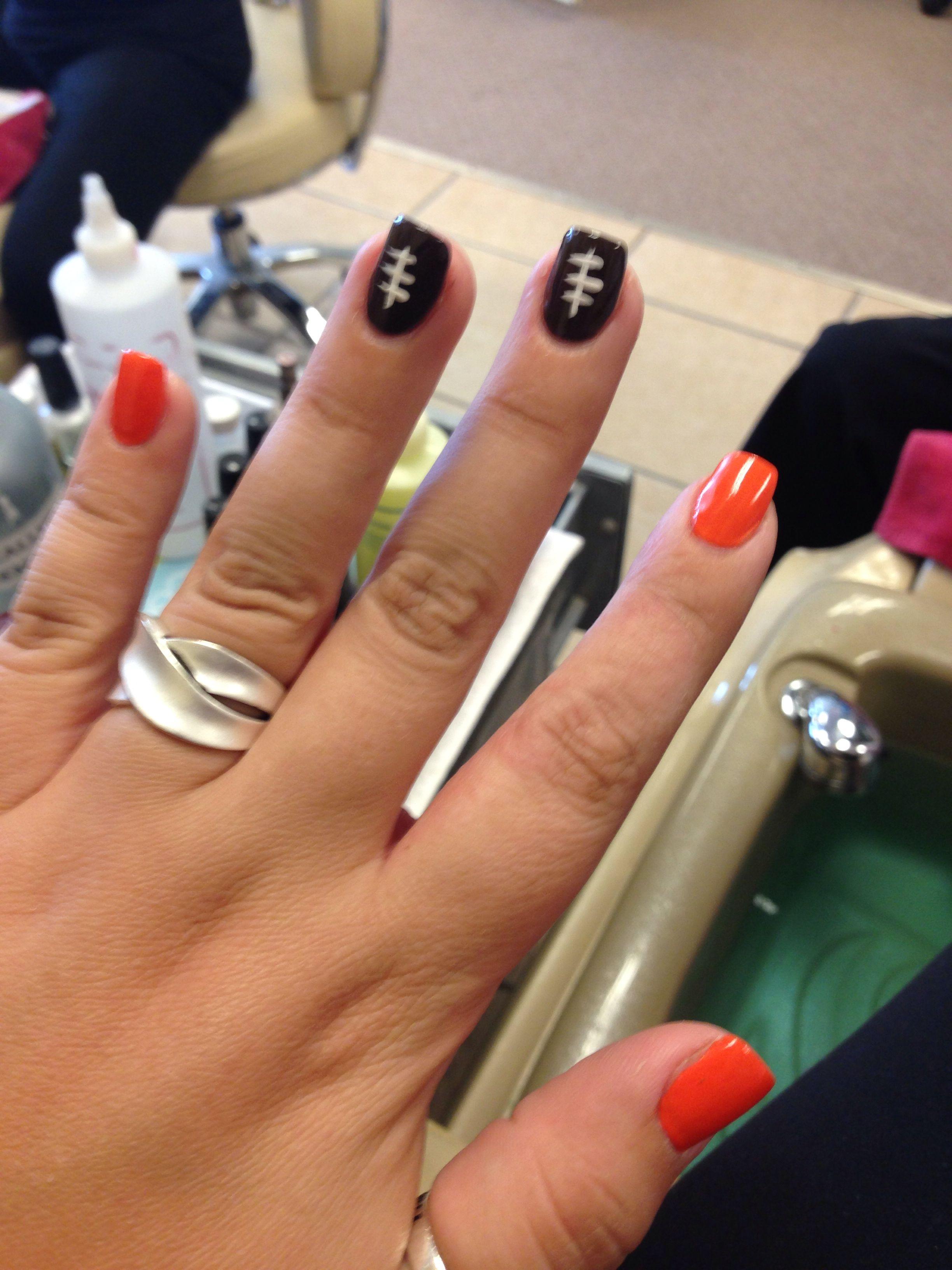 cleveland browns nails nail