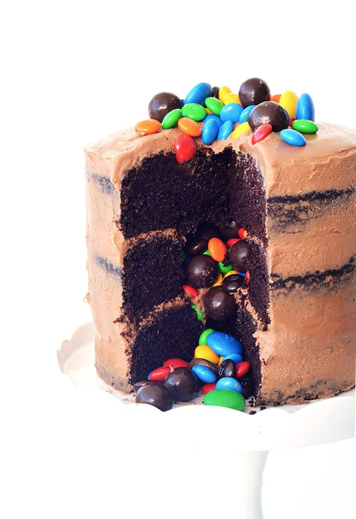 Photo of Chocolate Piñata Party Cake