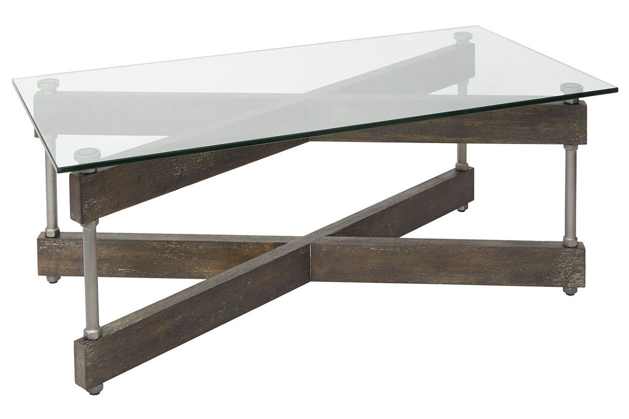 Glass Top Coffee Table Ashley Furniture Homestore In 2020