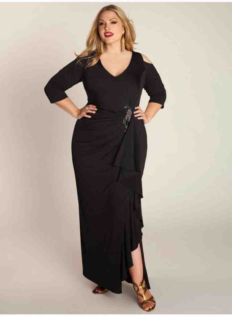 Long Black Bridesmaid Dresses Under 100