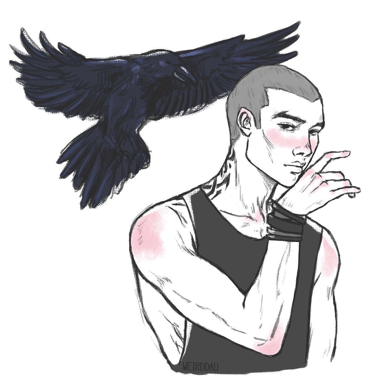 The Raven Cycle Fan Art Character Art Fan Art Raven