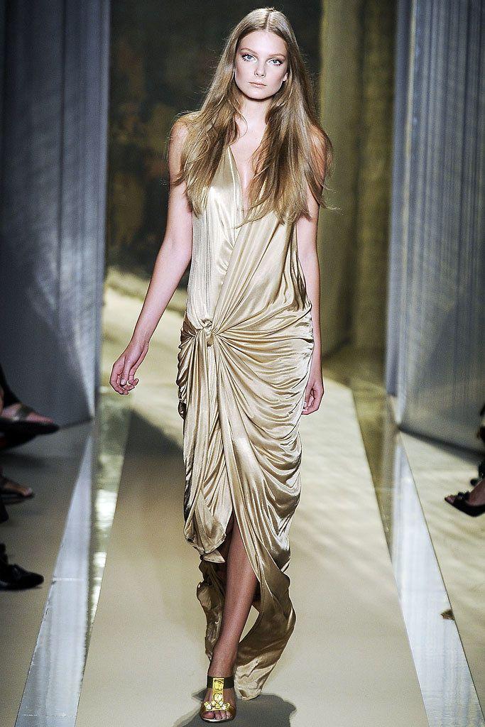 Donna Karan Spring 2009 Ready-to-Wear Fashion Show - Anna Jagodzinska