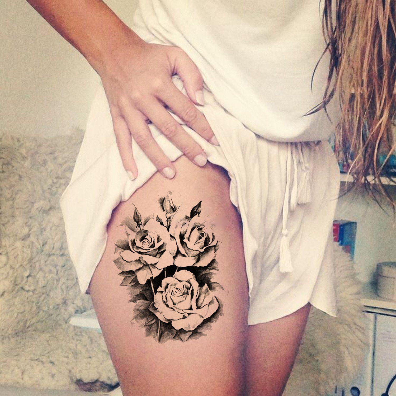 30 Trending Thigh Tattoo Ideas 18 Pinterest Tatouage