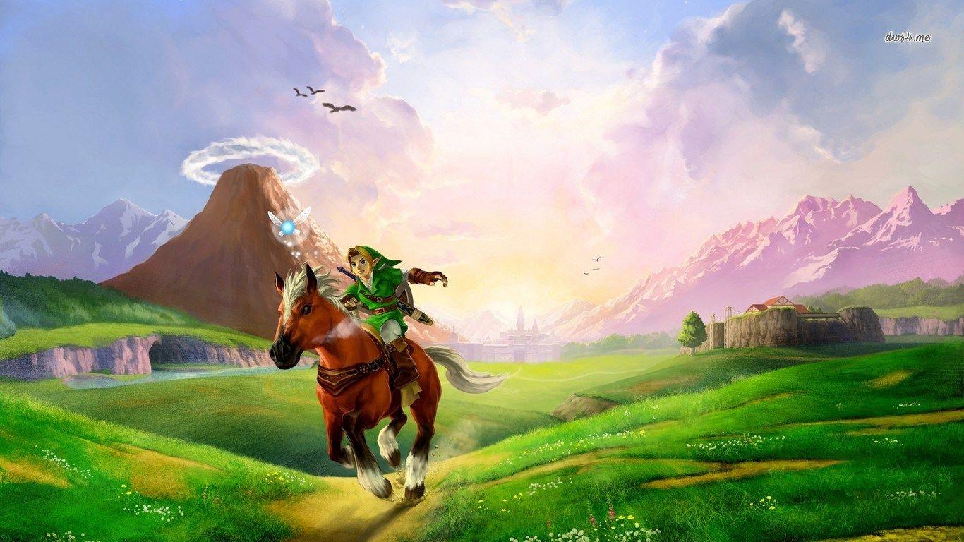 The Legend Of Zelda Free 1366x768 Zelda Ocarina Of Time Zelda
