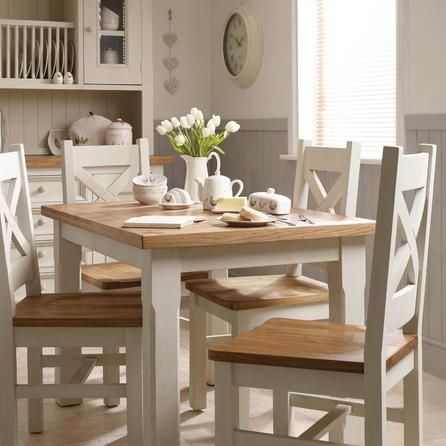 Salcombe Oak Dining Table Dunelm Comedores