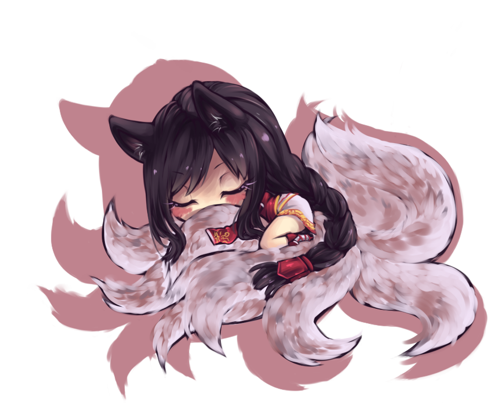 Ahri Chibi Gumiho, Cute Wallpapers, Emoticon, League Of Legends, Chibi,  Smiley
