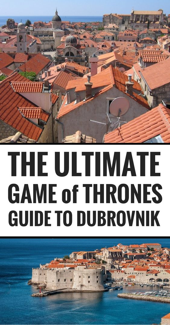 A Game of Thrones tour through Dubrovnik, Croatia - The Luxury PilgrimsThe Luxury Pilgrims