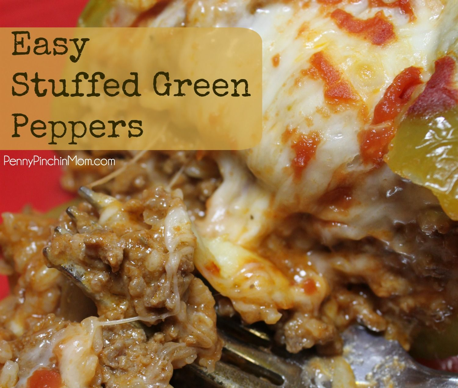 70 Drool Worthy Ground Beef Recipes That Will Make You: Stuffed Peppers, Easy