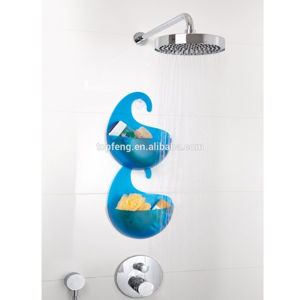 Plastic Shower Caddy With Hook | Shapeyourminds.com