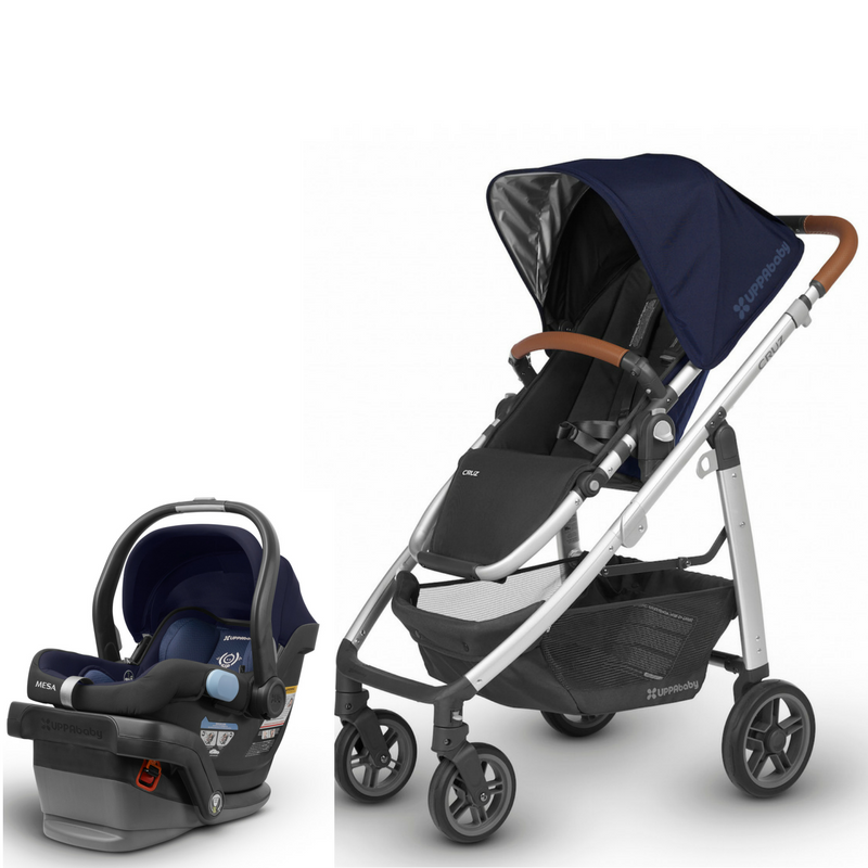 2020 UPPAbaby CRUZ V2 and MESA Travel System Travel