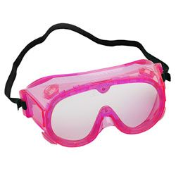 Pink goggles - yes please
