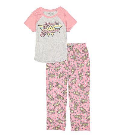 Look what I found on #zulily! Wonder Woman Pajama Set #zulilyfinds