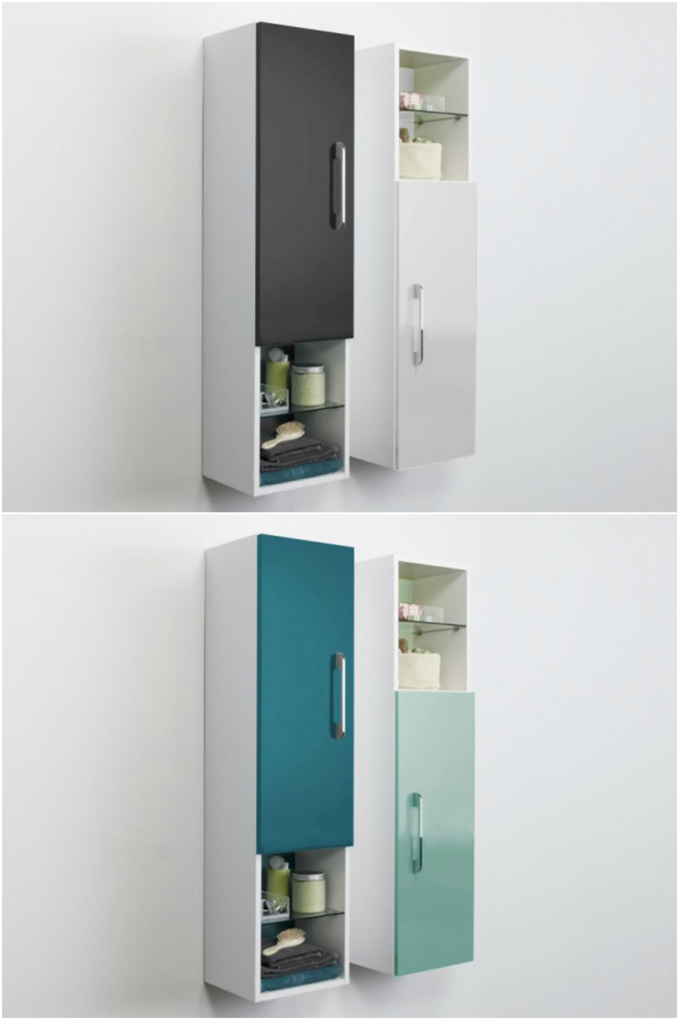HAPPY BATHROOM LINEN STORAGE CABINET - A perfect solution for an ...