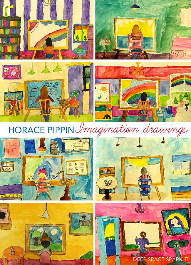 Horace Pippin Imagination Drawings Art History Lessons Kids Art