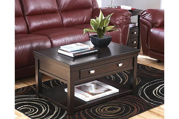 Coffee Table 36 X 24.Espresso Hatsuko Coffee Table 36 X 24 X 20 Ashley Furniture