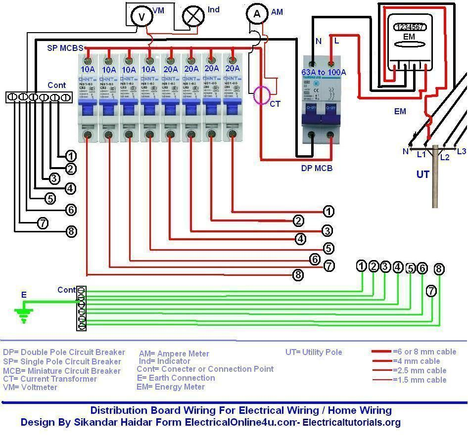 Single Phase Motor Starter Wiring Diagram Submersible Well