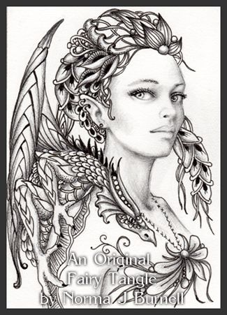 2013 fairy zentangle dragon tamer - Coloring Pages Dragons Fairies