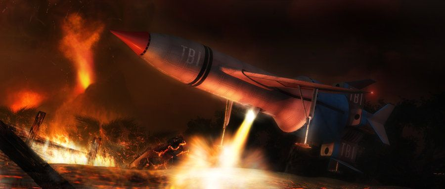 The Getaway by Chrisofedf Fan Art / Digital Art / 3-Dimensional Art / TV & Movies