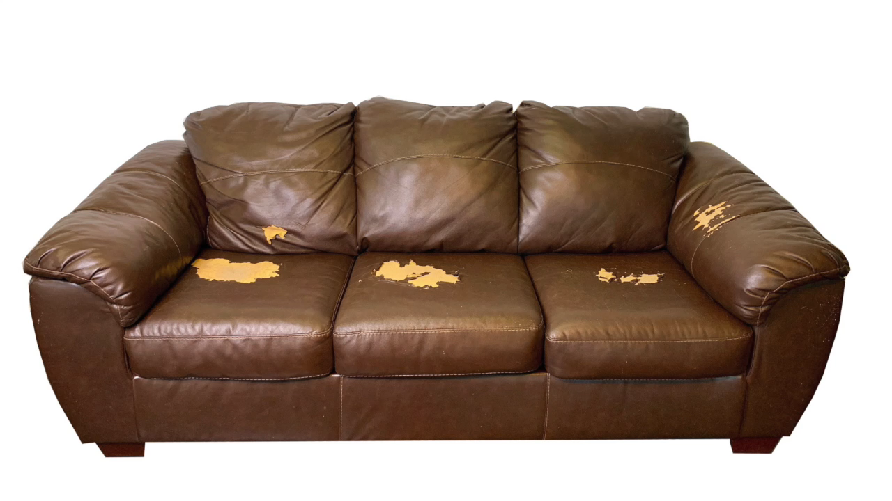 Easy Leather/Vinyl, Peeling Bonded Leather Repair leather