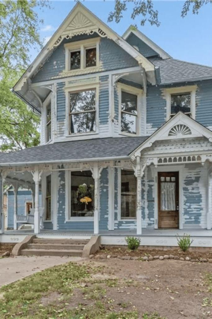 #oldhouse  #victorian  #fixerupper CLICK PIC FOR MORE PHOTOS OF THIS 1896 Fixer Upper For Sale In Franklin Indiana