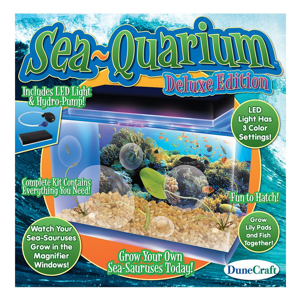 SeaQuarium Deluxe Edition Growing lilies, Lily pads