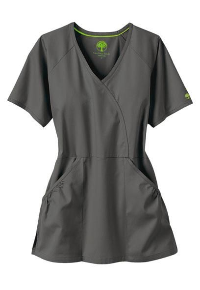 Scrub top pattern free healing hands scrubs mock wrap for Spa uniform patterns