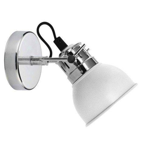 Spot pat¨re halog¨ne 1 x GU10 blanc Neoma lampes