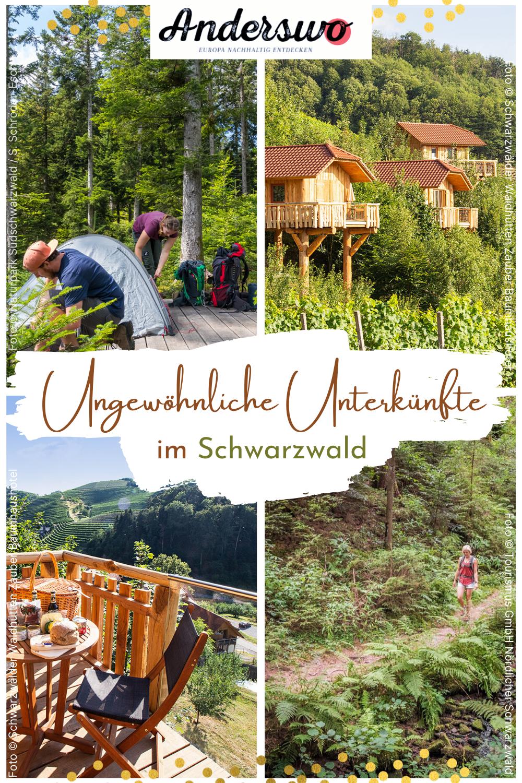 Ungewöhnlich schlafen im Schwarzwald in 2020 Schwarzwald