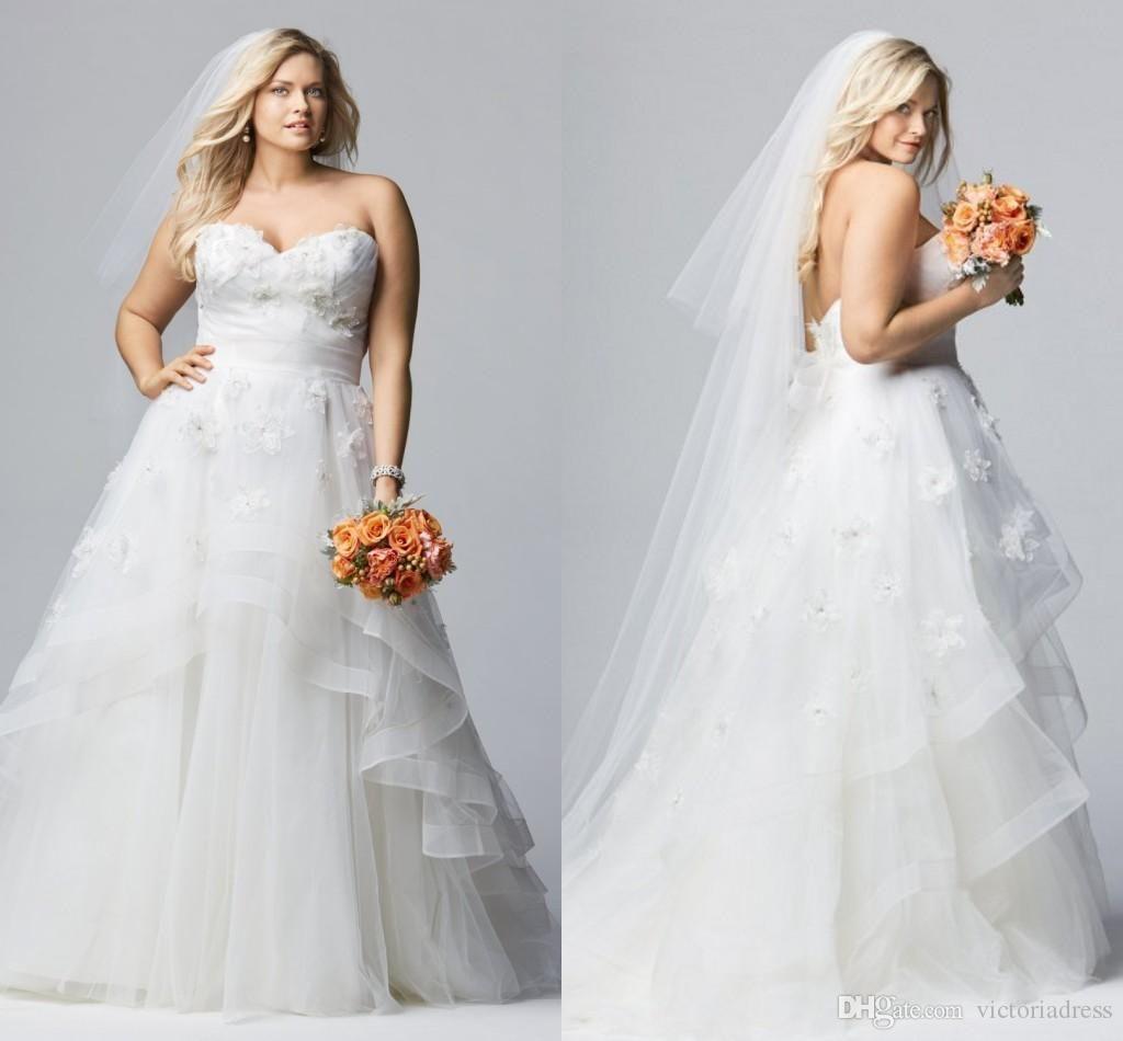 Wedding Dresses for Fat Women - Wedding Dresses for the Mature Bride ...