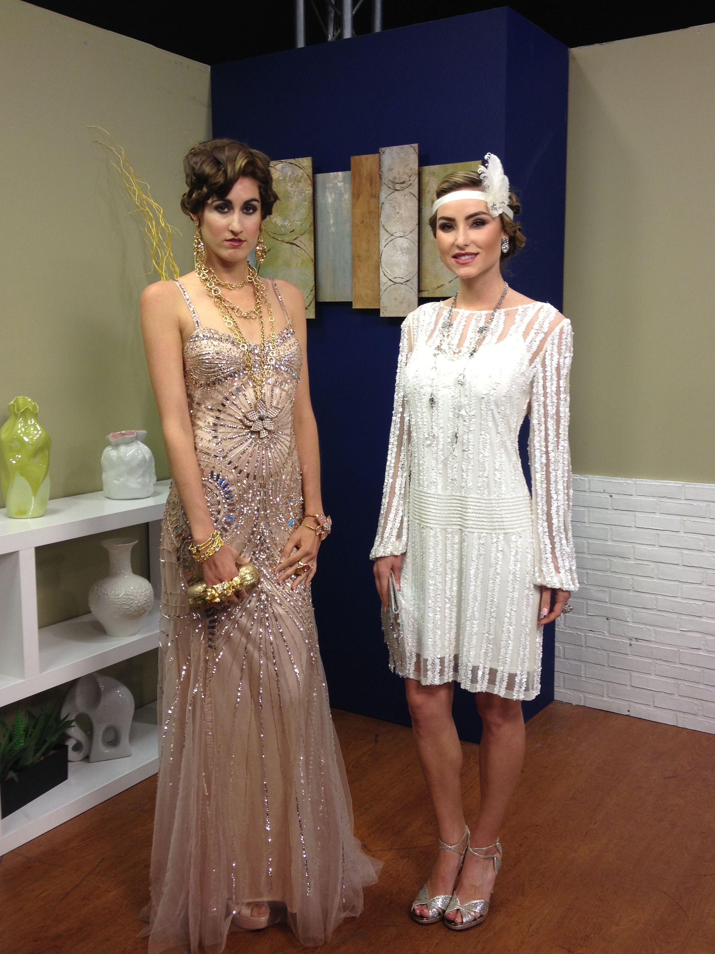 gatsby style wedding dresses | Melanie Pace | EVERYTHING FASHION ...