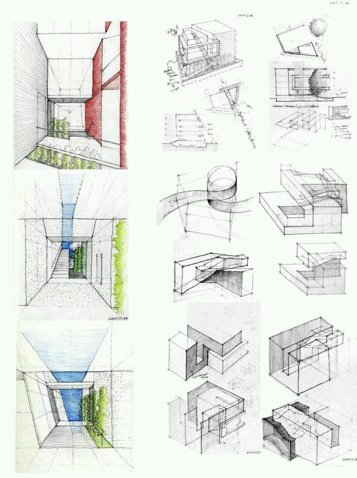 Concept Sketches Architecture sketch, Concept