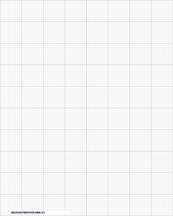Graph Paper 14 Count Aida