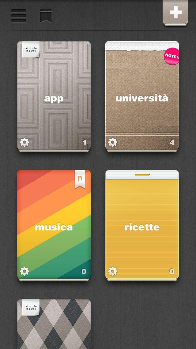 Note'd, skeuomorphic note app, free, iOS (avec images)