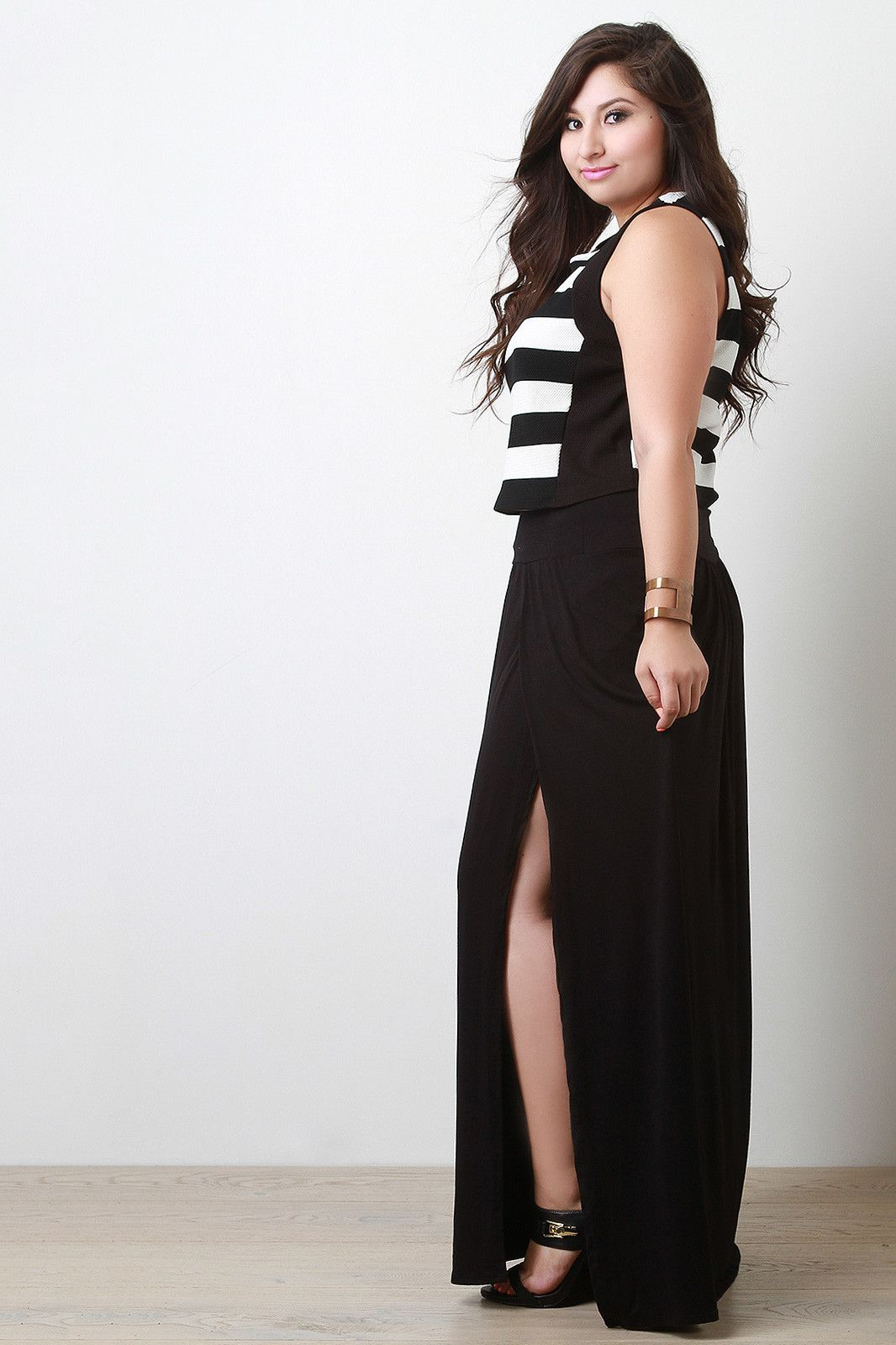 64887b3b442 Plus Size Maxi Skirt