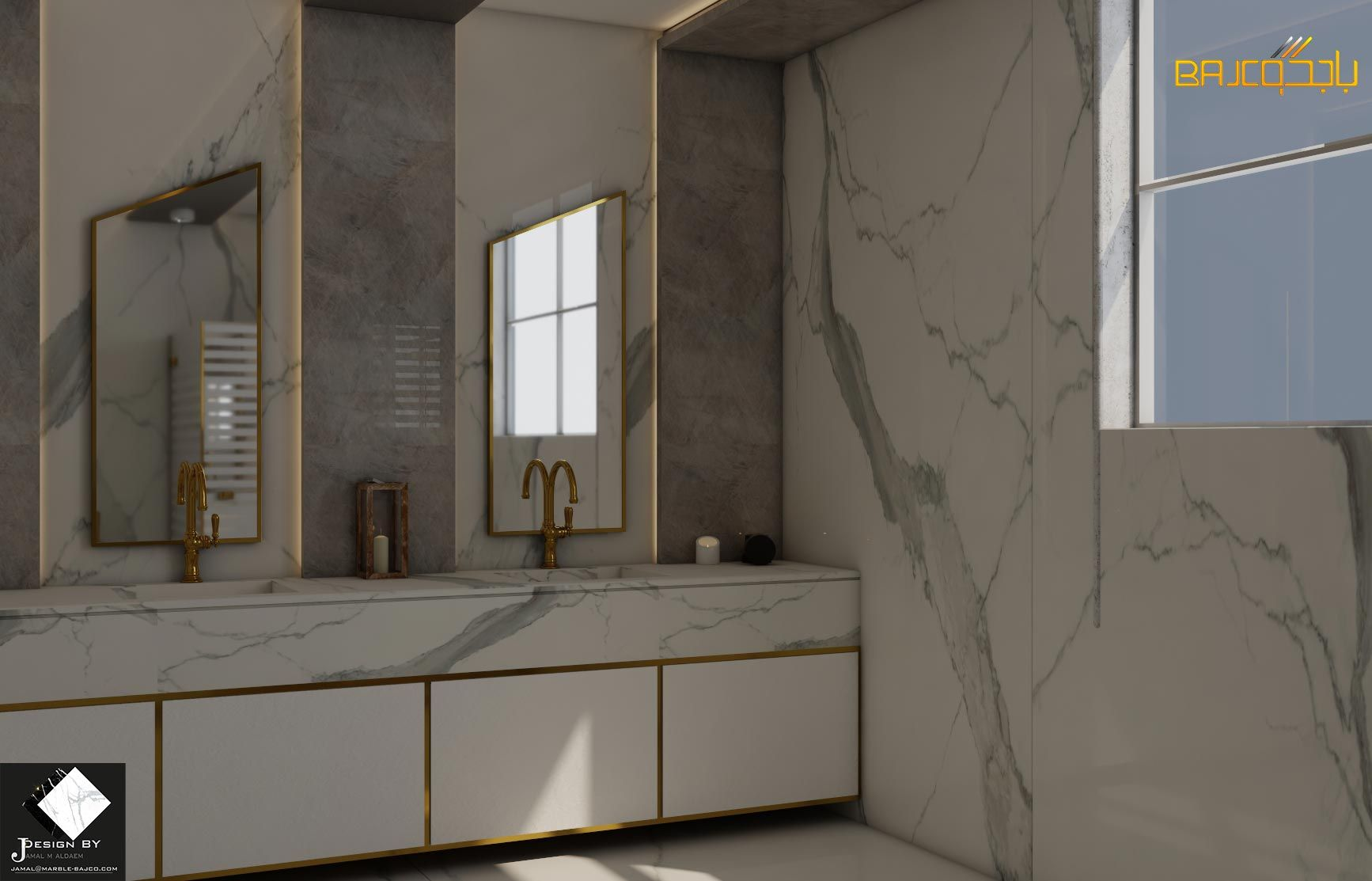تصميم مغسلة رخام Bathroom Mirror Bathroom Lighting Lighted Bathroom Mirror