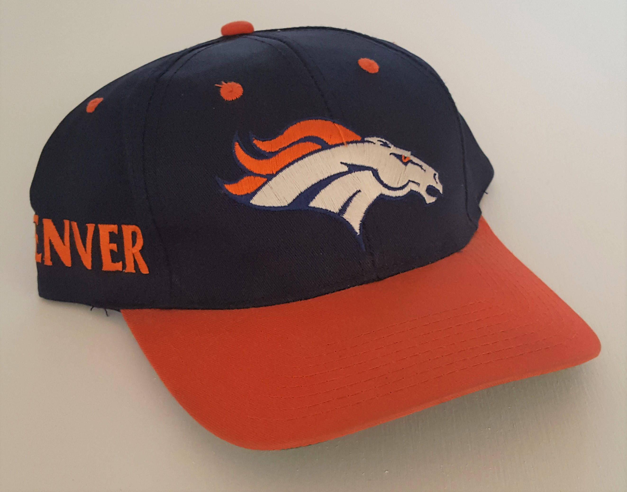 29c503386d399f Vintage Denver Broncos Twins Snapback Hat NFL Snap VTG by  StreetwearAndVintage on Etsy