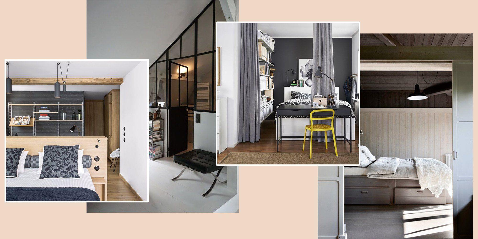8 Astuces Pour Separer Une Chambre En Deux Avec Brio