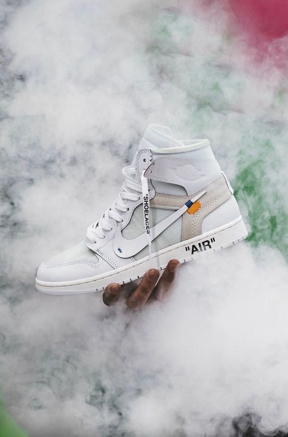 OW online sneakers fashion shoes sport fitness running streetfashion men woman style outfit OffWhite AirJordan1OGWhiteOW is part of Shoes -